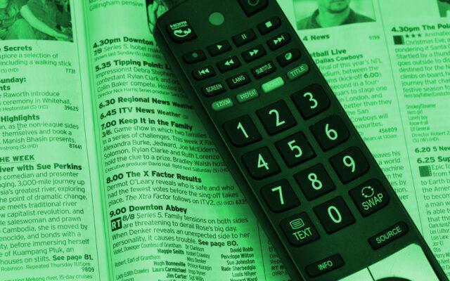 television remote control 525705